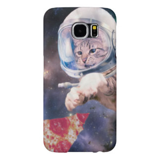 cat astronaut - funny cats - cats in space samsung galaxy s6 case
