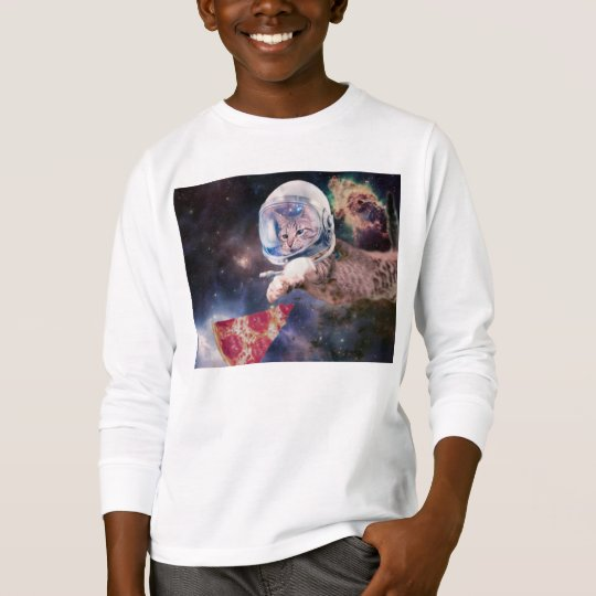 cat astronaut - funny cats - cats in space T-Shirt