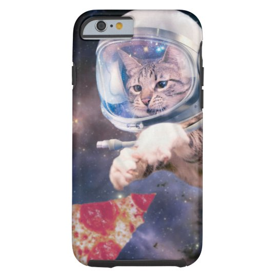 cat astronaut - funny cats - cats in space tough iPhone 6 case