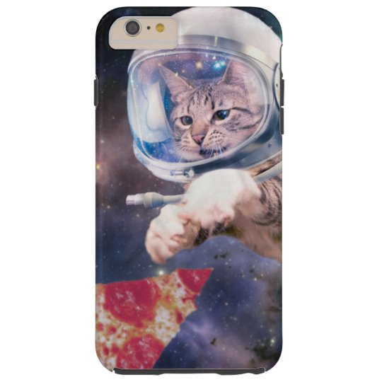 cat astronaut - funny cats - cats in space tough iPhone 6 plus case