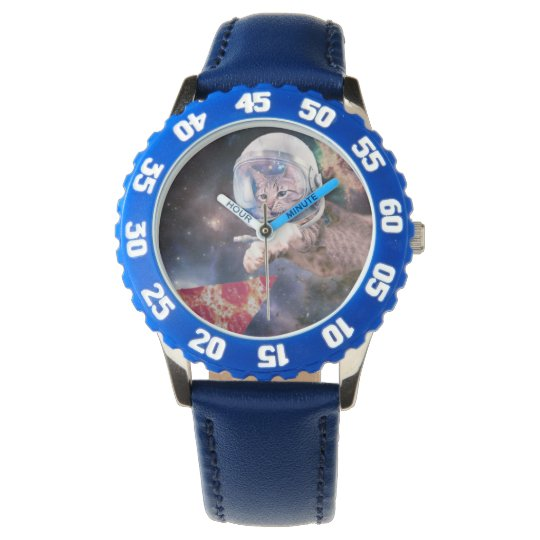 cat astronaut - funny cats - cats in space watches