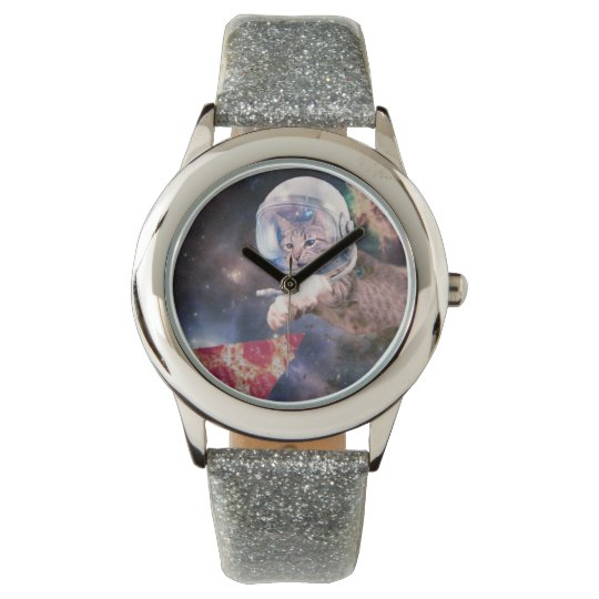 cat astronaut - funny cats - cats in space wrist watches