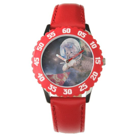 cat astronaut - funny cats - cats in space wristwatches
