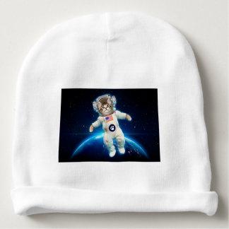 Cat astronaut - space cat - Cat lover Baby Beanie