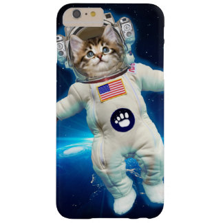 Cat astronaut - space cat - Cat lover Barely There iPhone 6 Plus Case