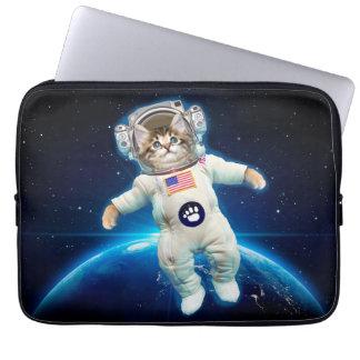 Cat astronaut - space cat - Cat lover Computer Sleeve