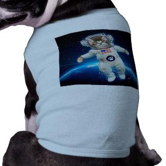 Cat astronaut - space cat - Cat lover Doggie T Shirt