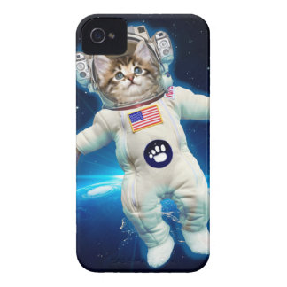 Cat astronaut - space cat - Cat lover iPhone 4 Cases