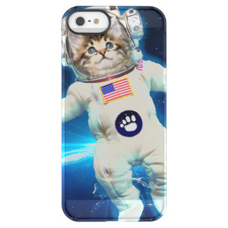 Cat astronaut - space cat - Cat lover Permafrost® iPhone SE/5/5s Case