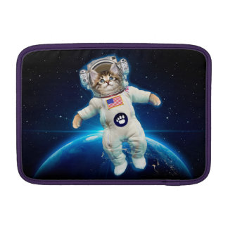 Cat astronaut - space cat - Cat lover Sleeve For MacBook Air