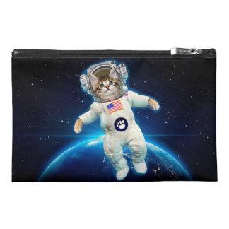 Cat astronaut - space cat - Cat lover Travel Accessory Bag