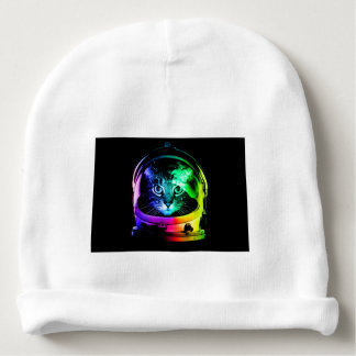 Cat astronaut - space cat - funny cats baby beanie