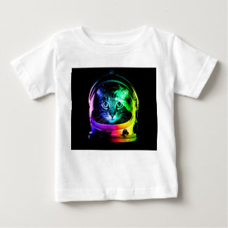 Cat astronaut - space cat - funny cats baby T-Shirt