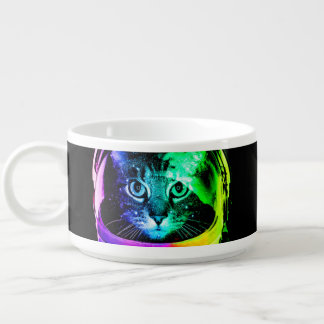 Cat astronaut - space cat - funny cats bowl