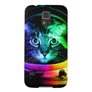 Cat astronaut - space cat - funny cats case for galaxy s5