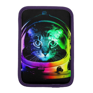 Cat astronaut - space cat - funny cats iPad mini sleeve