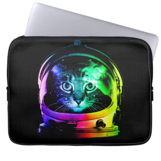 Cat astronaut - space cat - funny cats laptop sleeve