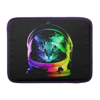Cat astronaut - space cat - funny cats sleeve for MacBook air