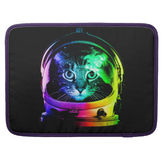 Cat astronaut - space cat - funny cats sleeve for MacBook pro