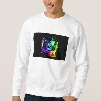 Cat astronaut - space cat - funny cats sweatshirt