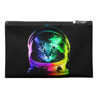 Cat astronaut - space cat - funny cats travel accessory bag