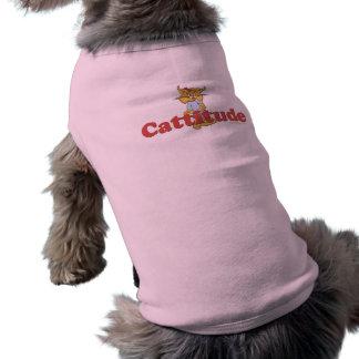 Cat Attitude Doggie Tshirt