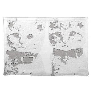 Cat Babies Placemat