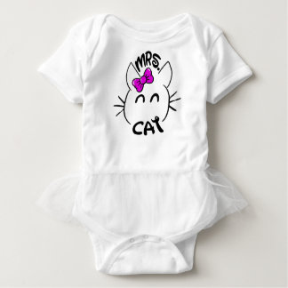 Cat baby baby bodysuit