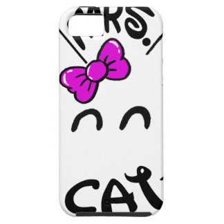 Cat baby case for the iPhone 5