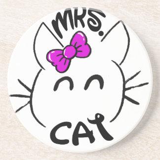 Cat baby coaster