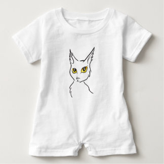 Cat Baby Romper