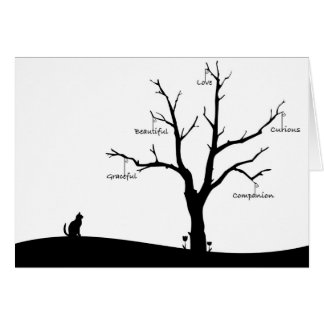 Cat Bereavement Card