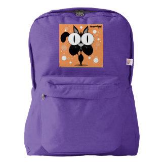 Cat(Black)Backpack, Amethyst Backpack