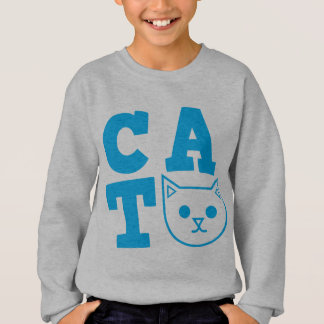 CAT blue Sweatshirt