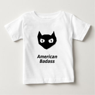 Cat Boo American Badass Baby T-Shirt