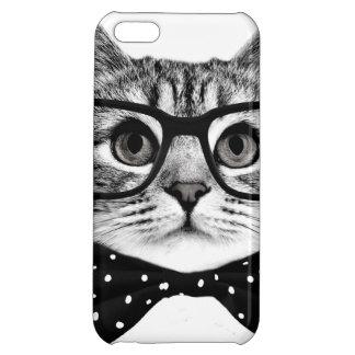 cat bow tie - Glasses cat - glass cat iPhone 5C Cover