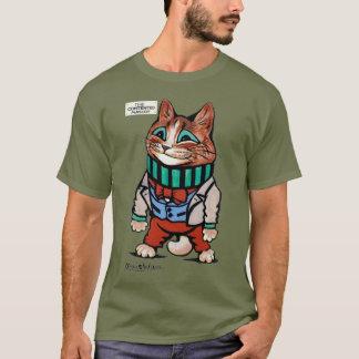 Cat boy, Louis Wain T-Shirt