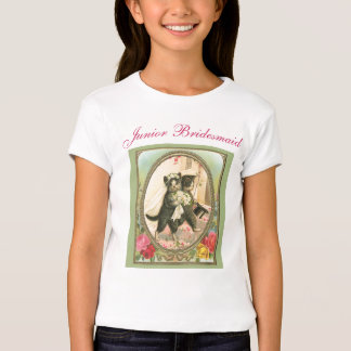 Cat Bride and Groom Wedding Day T-Shirt