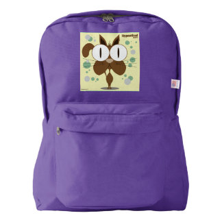 Cat(Brown) Backpack, Amethyst Backpack