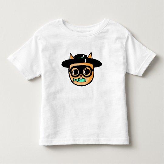 Cat Burglar Illustration Toddler T-shirt