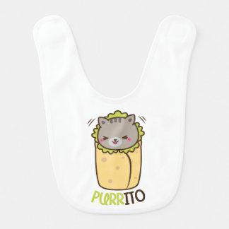 Cat & Burrito Purritp Bib