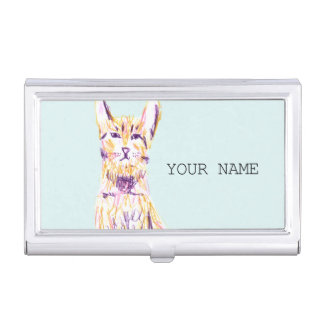 CAT BUSINESS CARD CASES