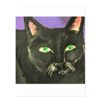 cat by eric ginsburg postcard