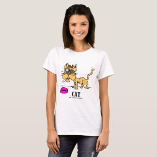 Cat by Lorenzo Women't T-Shirt