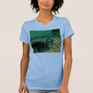 Cat by the Bathtub T-Shirt