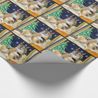 (Cat) Callie Muffin's Christmas Wrapping Paper