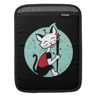 Cat Calligrapher iPad Sleeve