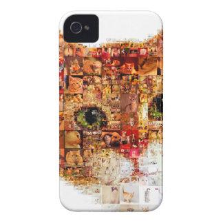 Cat - cat collage iPhone 4 cases