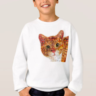 Cat - cat collage sweatshirt
