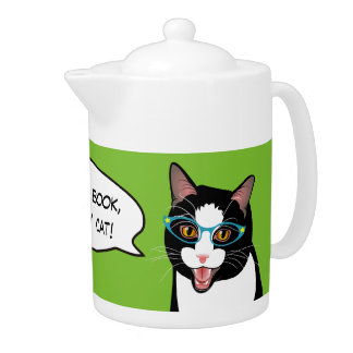 Cat Chat ALL I NEED IS TEA! BlissAndKittens kitty